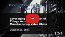 Leveraging IoT Across the Manufacturing Value Chain